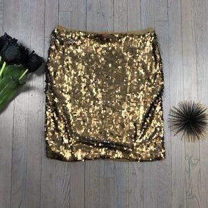 New York & Company Strapless New Years Holiday Top